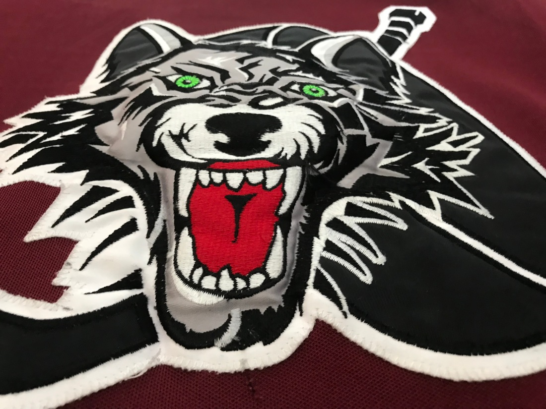Chicago Wolves Jersey Crest