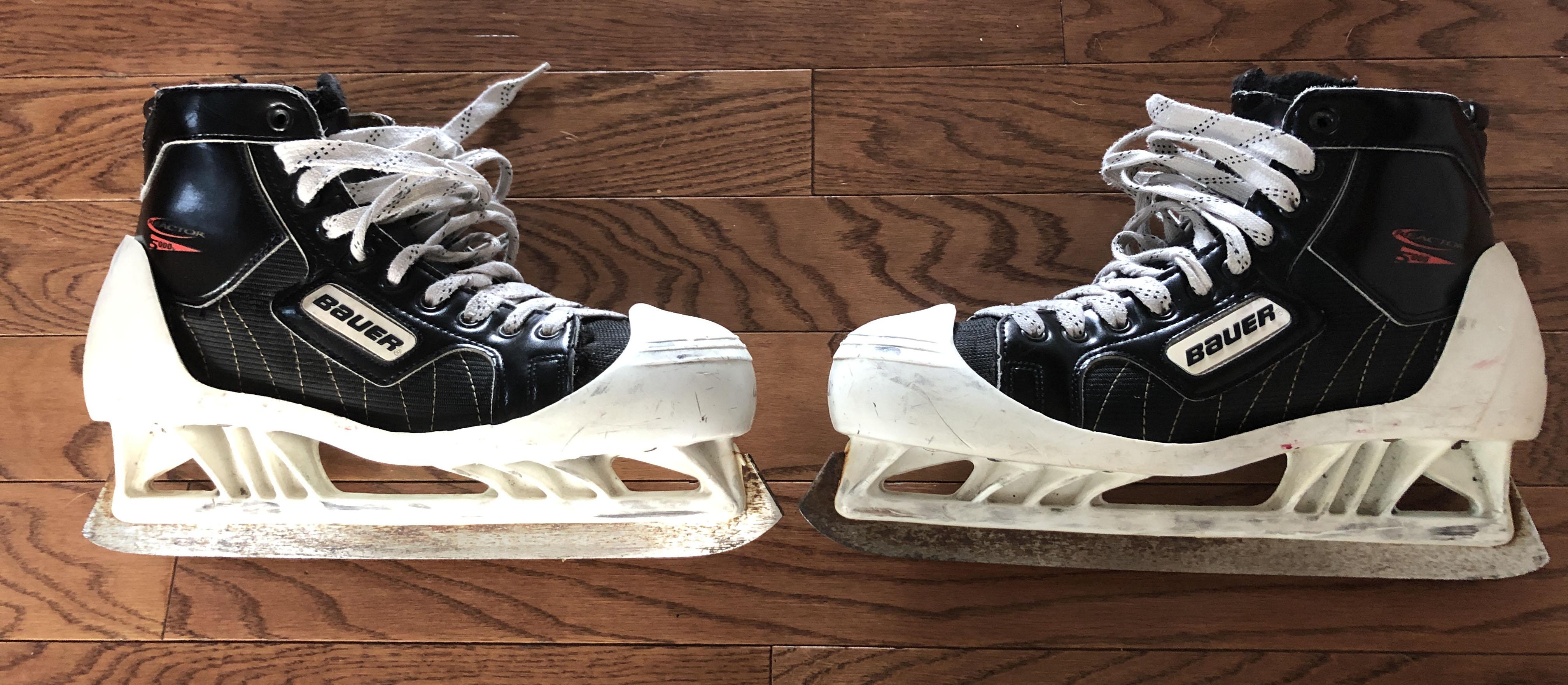 Bauer Goalie Skate Cowlings