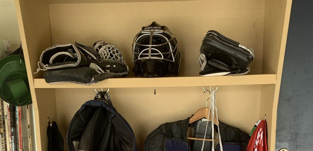 Hockey Locker Shelf