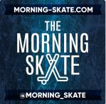 The Morning Skate Podcast Art